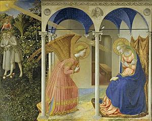 5 Fra Angelico La Anunciación