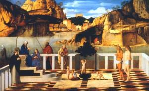 7 Giovanni Bellini Alegoría sacra