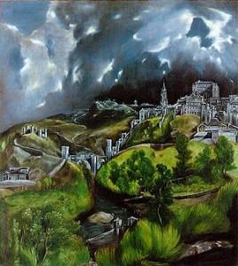 El Greco. Vista de Toledo