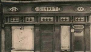 Fachada Lhardy 1839
