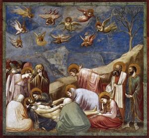 Giotto Lamentación sobre Cristo muerto