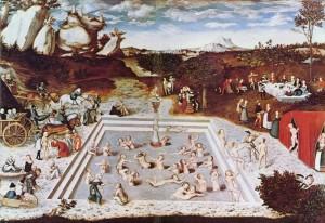 Lucas Cranach el Joven. La fuente de la juventud