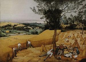 Pieter Brueghel el Viejo. Los cosechadores
