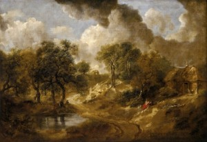 Thomas Gainsborough. Paisaje en Suffolk