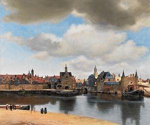 Vermeer. Vistas de Delft