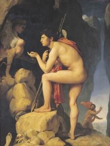 Ingres- Edipo y la Esfinge