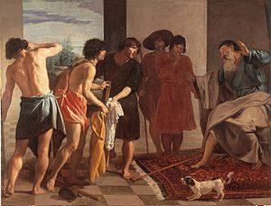 Diego_Velázquez Túnica de josé